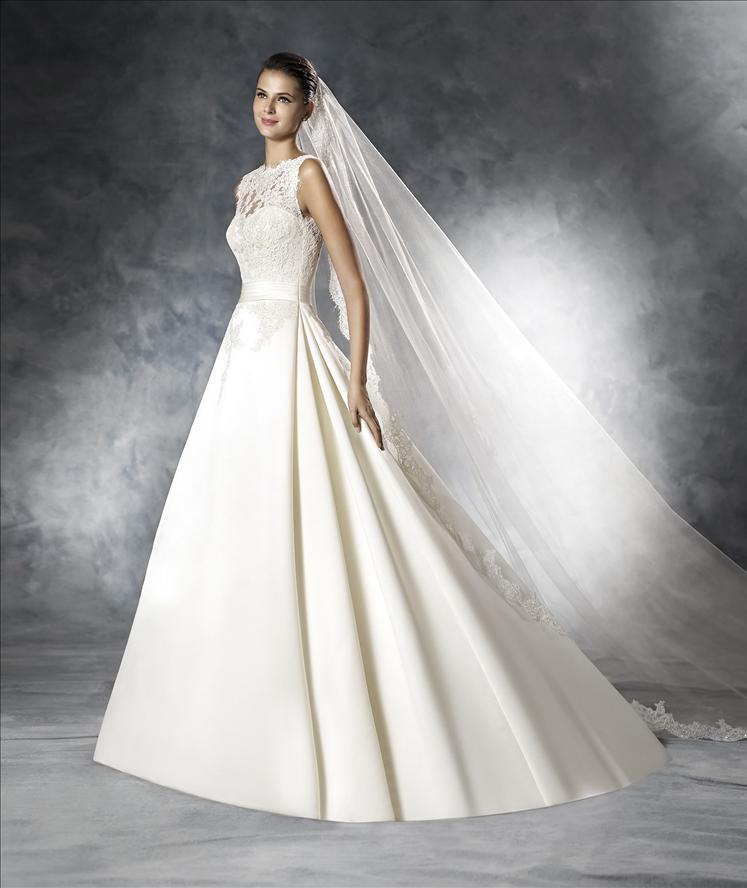 ... in der White One Kollektion 2016 auf besondere Brautkleider freuen