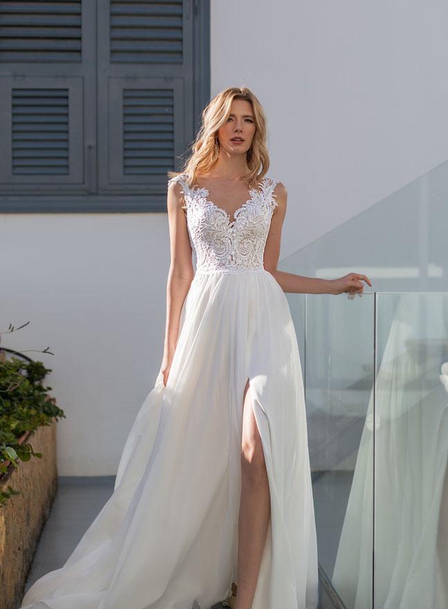 Weg sparen am besten online suche nach neuesten A-Linie Brautkleider, oben eng anliegend unten weit