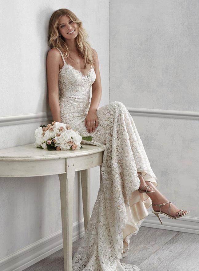 Online bestellen wie kommt man autorisierte Website Brautkleider Vintage - Hochzeitskleider im Hippe | BoHo ...