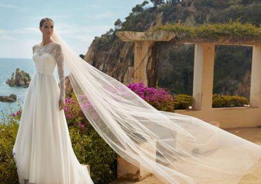 Für Ihr Hochzeitskleid passende Brautschleier