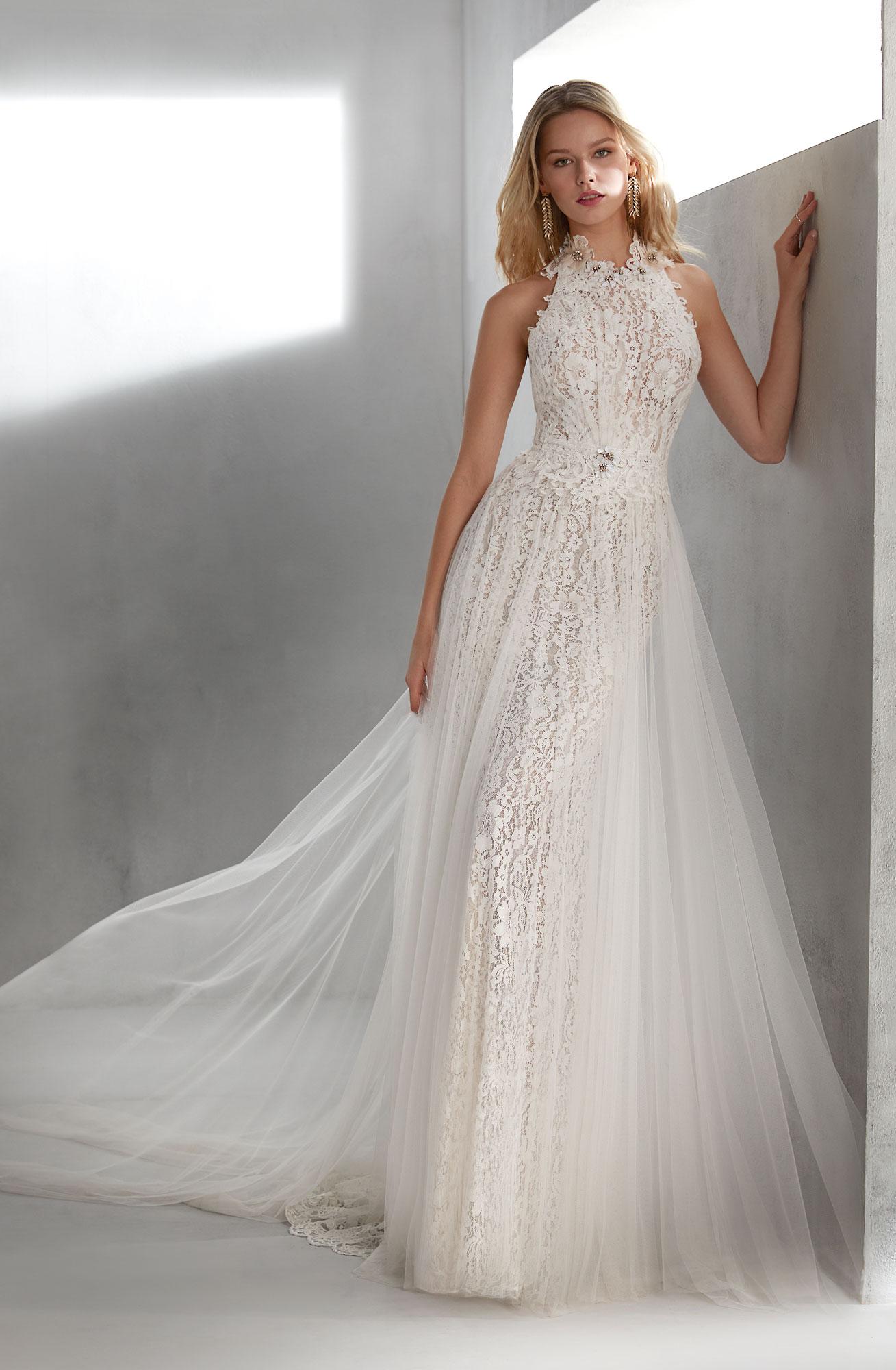 Brautkleider Spitze  Hochzeitskleider mit Spitze - edel