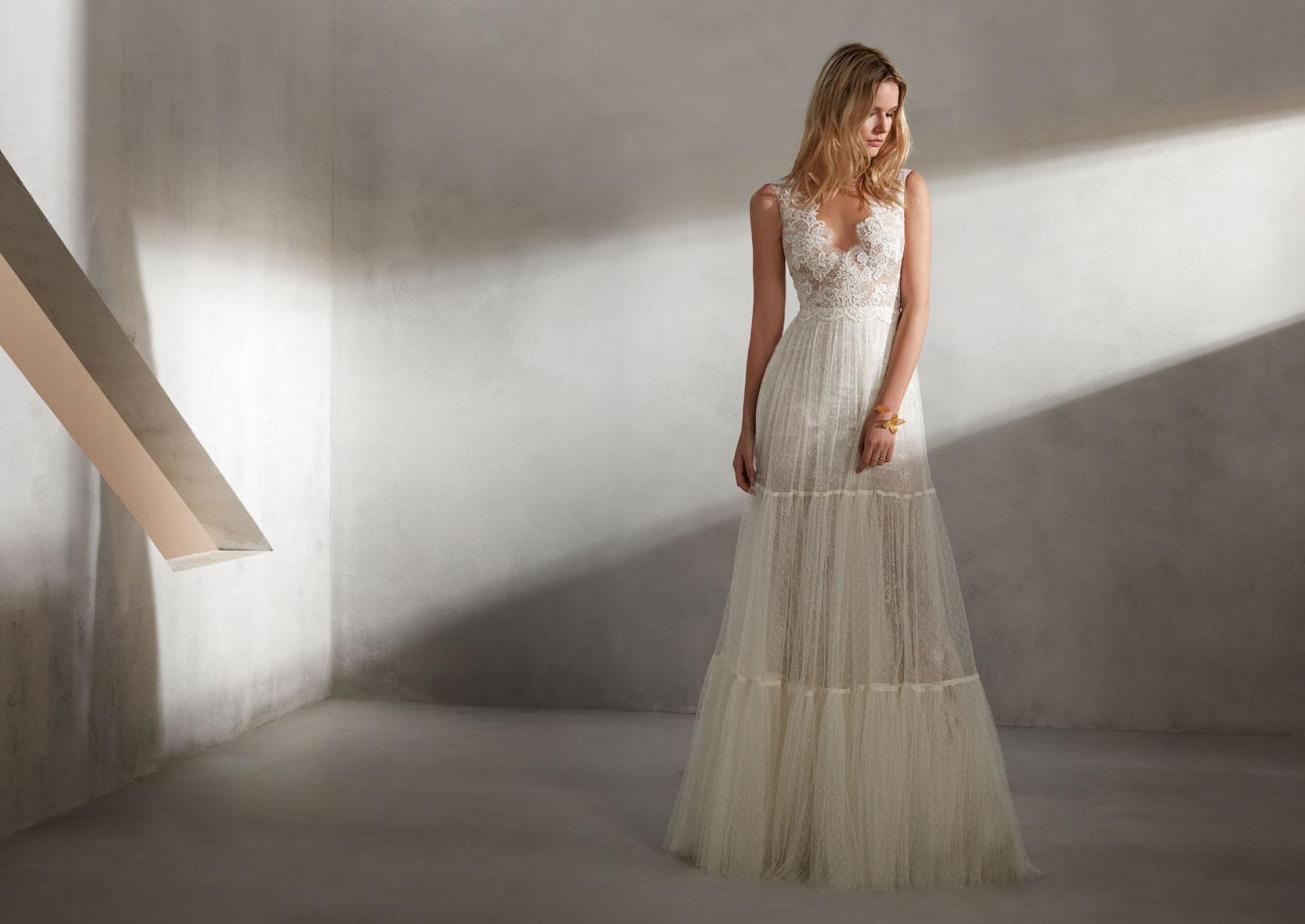 Brautkleid_A_Linie_Spitze-Hochzeitskleid_Glitzer