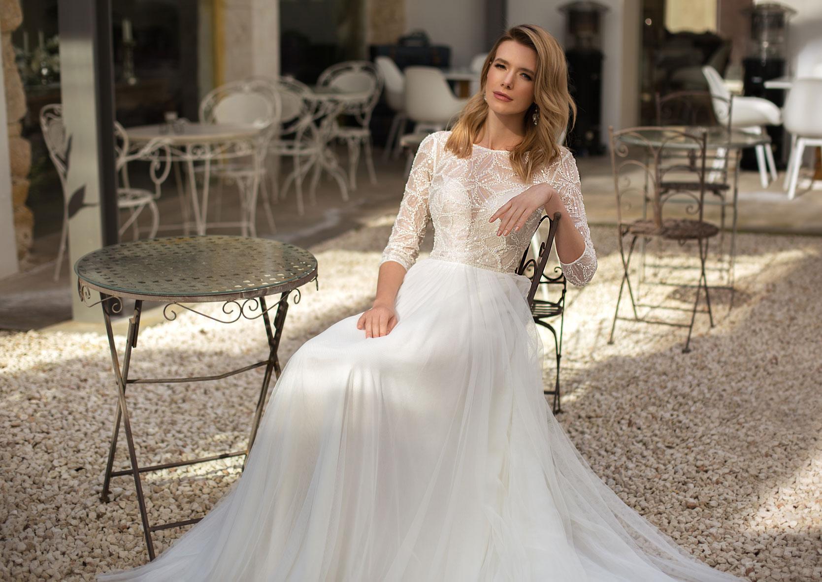 Standesamt Brautkleider schlicht, farbig, lang, kurz - Your day