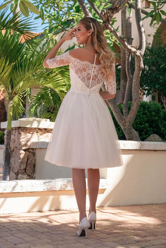 Kurze Brautkleider Erlaubt Ist Was Der Braut Gefallt