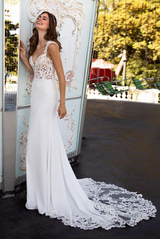 Standesamt Brautkleider Schlicht Farbig Lang Kurz Your Day Your Style
