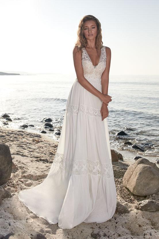 Standesamt Brautkleider schlicht, farbig, lang, kurz ...